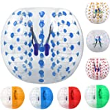 ANCHEER Inflatable Bumper Bubble Soccer Ball Dia 4/5 ft(1.2/1.5m) Giant Human Hamster Ball for Adults and Kids