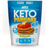 ANS Performance Keto Pancake & Waffle Mix (16 Servings, 16 oz) - Low Carb, Gluten-Free, Paleo, Low Glycemic   Made with Natur