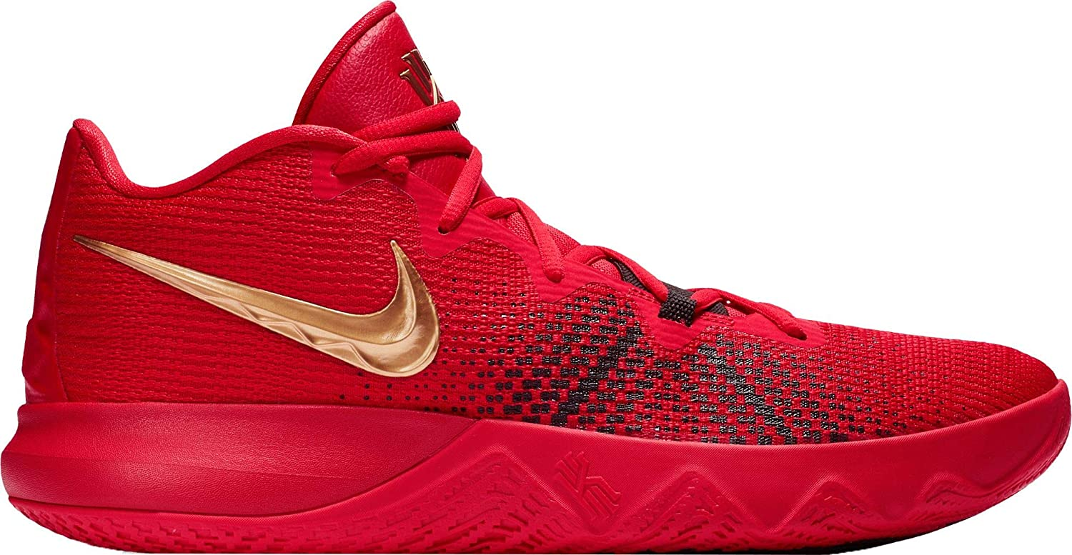 Amazon.com  NIKE Men s Kyrie Flytrap Basketball Shoes (Red Gold13 M US)   Sports   Outdoors 3d580b77b