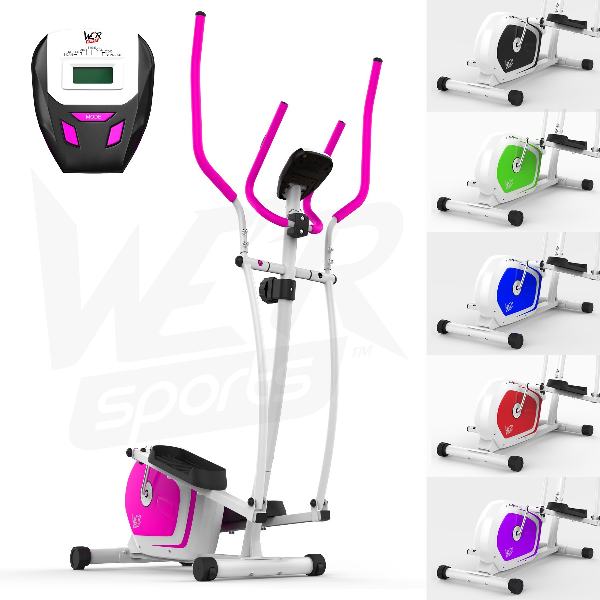 We R Sports Elliptique Traverser Entraîneur & Exercice Vélo 2-en-1 Maison Cardio Faire Du Sport product image