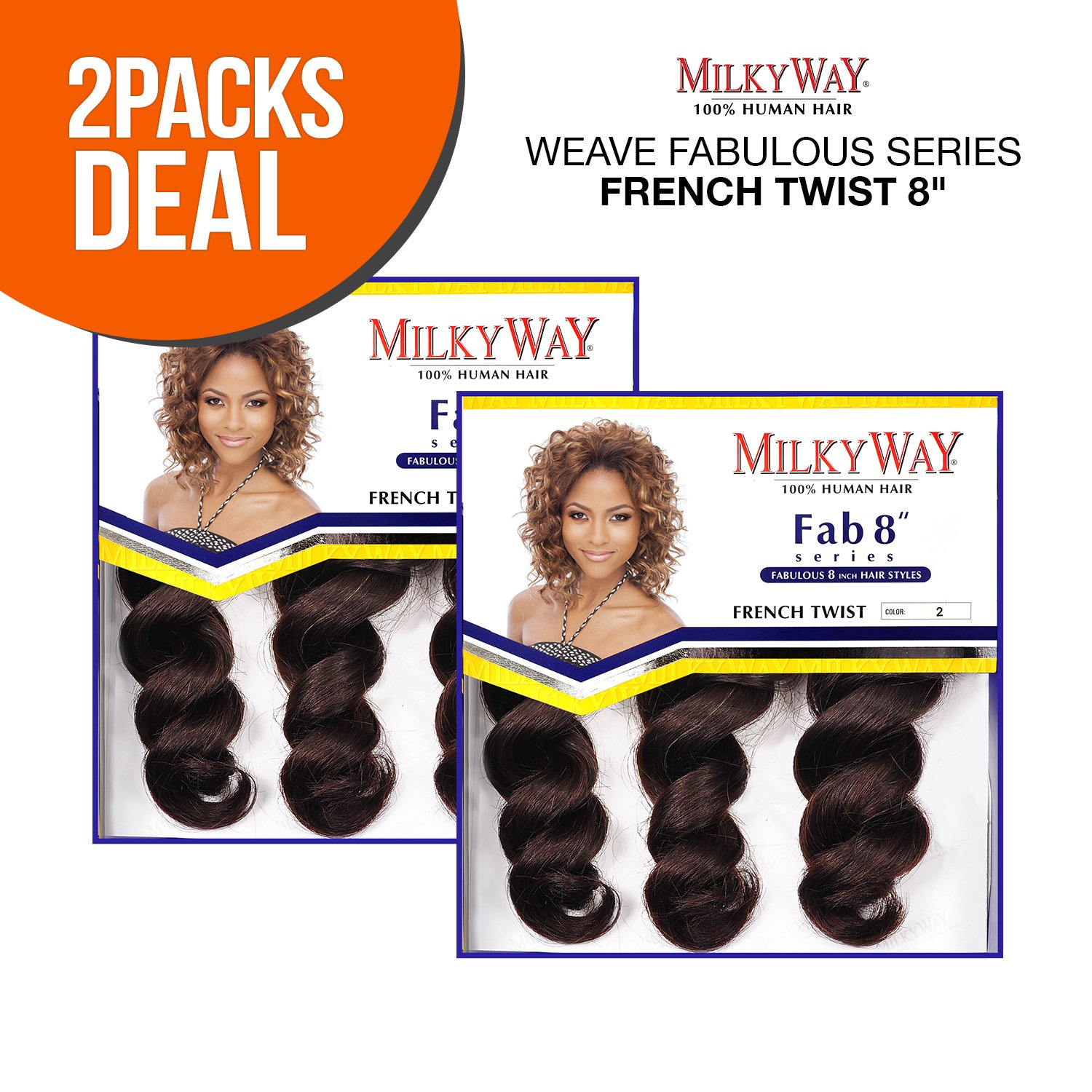 Amazon 2 Pack Deals Milkyway Human Hair Weave Fabulous