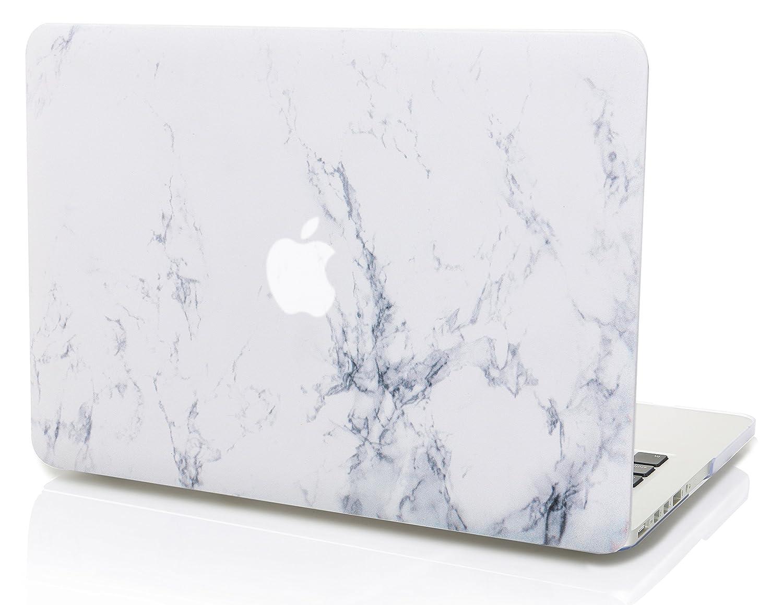 Funda Dura Case Cover MacBook Pro 13.3 Ultra Delgado Pl/ástico {A1989//A1706//A1708} KECC MacBook Pro 13 Pulgadas 2019//2018//2017//2016, Touch Bar M/ármol Blanco