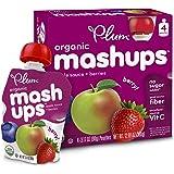 Plum Kids Organic Fruit Mashups, Mixed Berry, 4 Count