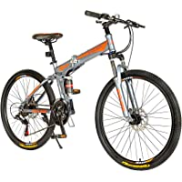 Endless 26T Foldable Mountain Bike (Mat Black)