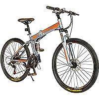 Endless 26T Foldable Mountain Bike (Mat Black)