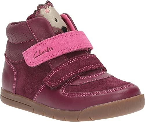 Clarks Infant Girls Casual Ankle Boots