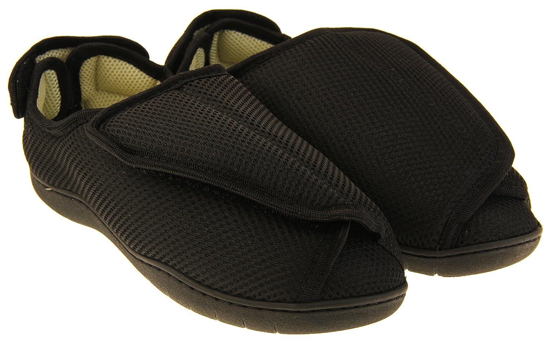 54dd2a8daffee Footwear Studio Réglable Velcro Orthopédique Pantoufles Hommes  Amazon.fr   Chaussures et Sacs