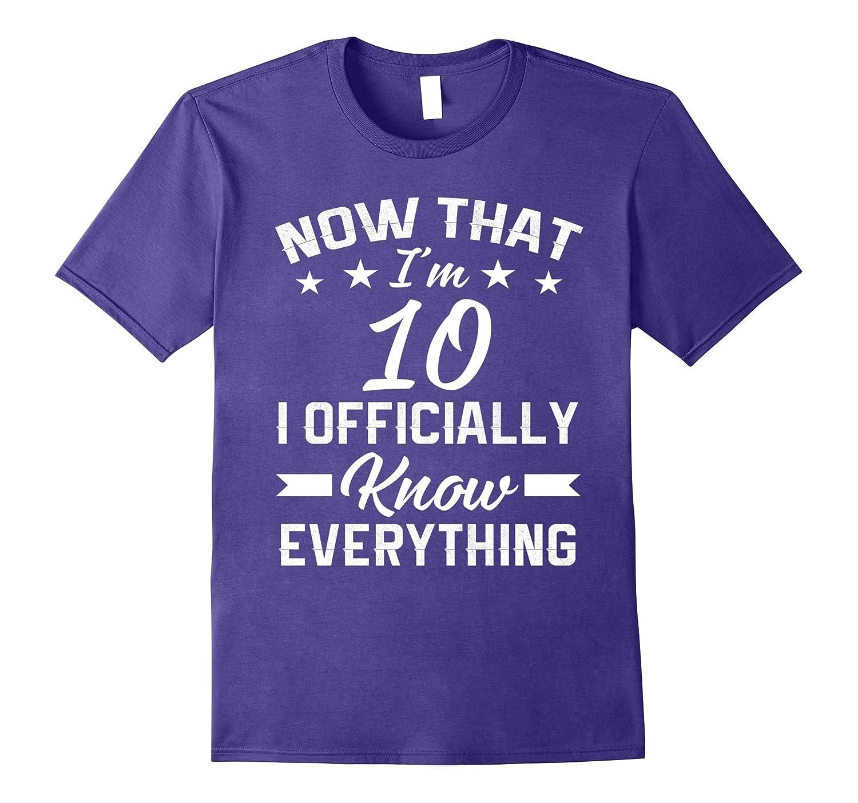 I'm 10 birthday shirt - 10 year old shirt - Age 10 T Shirt-ANZ
