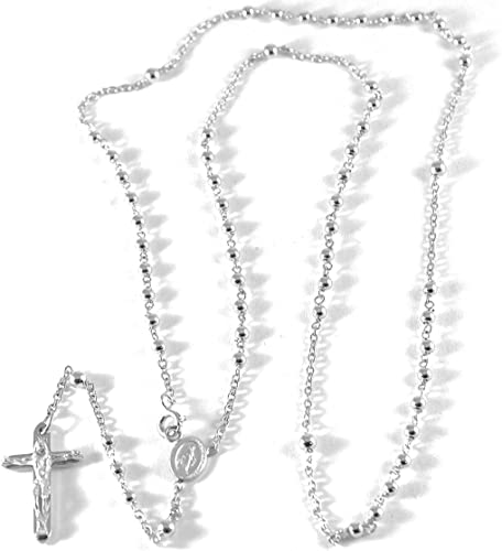 Collana in oro bianco 18kt 750/% Made in Italy
