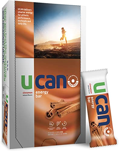 UCAN Energy Bars with SuperStarch – Cinnamon Flavor – 12 Count