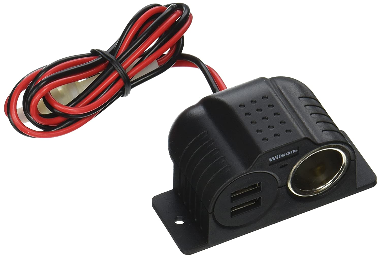 Wilson Power Outlet Black