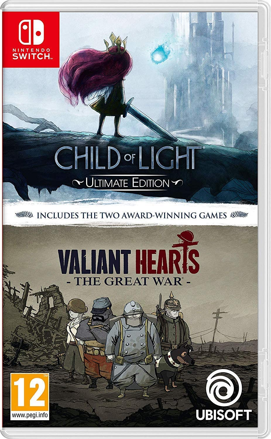 Child of Light - Ultimate Edition + Valiant Hearts The Great War - Double Pack NSW: Amazon.es: Videojuegos