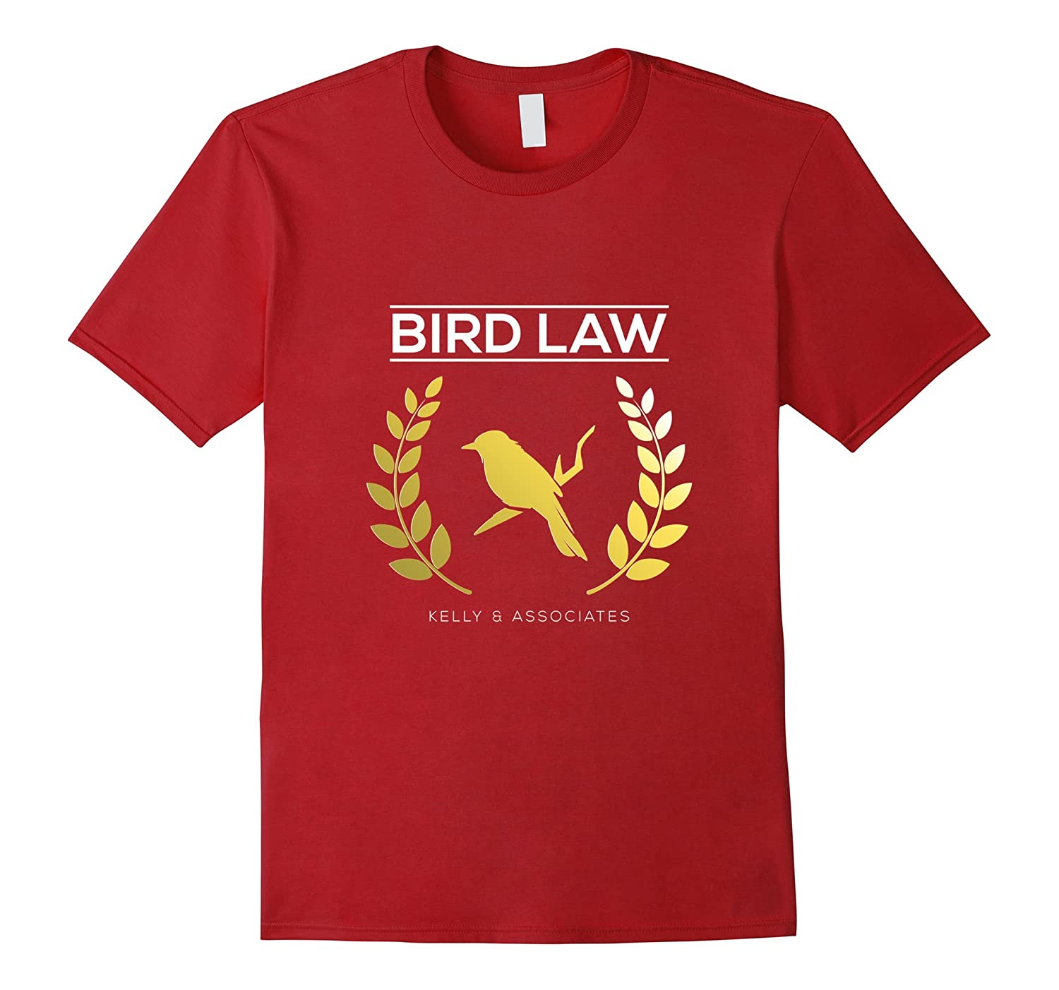 Bird Law Cute Birdy Lawyer Association T-shirt