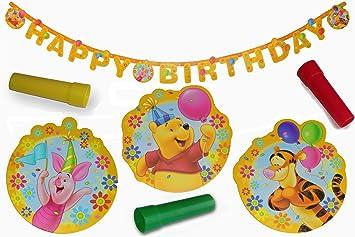 Girlande Geburtstag Kinder Party Happy Birthday Dekoration ...