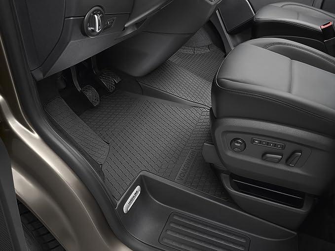 Cab Overmat Black Rubber Mat For VW T5 T6 Right Hand Drive Single Passenger Se