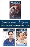 Harlequin Medical Romance September 2015 - Box Set 1 of 2: Falling at the Surgeon's Feet\Daredevil, Doctor...Husband?\Reunited...in Paris!