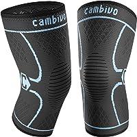 CAMBIVO 2 x Rodilleras Menisco y Ligamento, Rodilleras Hombre y Mujer Antideslizante, Rodilleras Deportivas Compresion…