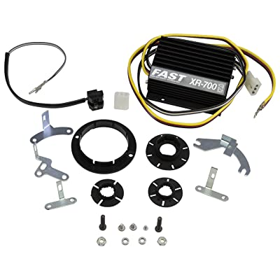 FAST 700-0226 XR-700 Points-to-Electronic Ignition Conversion Kit for Domestic 4, 6 and 8 Cylinder Engines and VW/Bosch 009 Distributors: Automotive