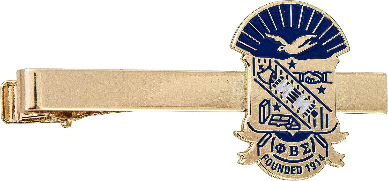 Desert Cactus Phi Beta Sigma Fraternity Greek Formal Wear Blazer Jacket (Gold Color Crest Tie Bar)