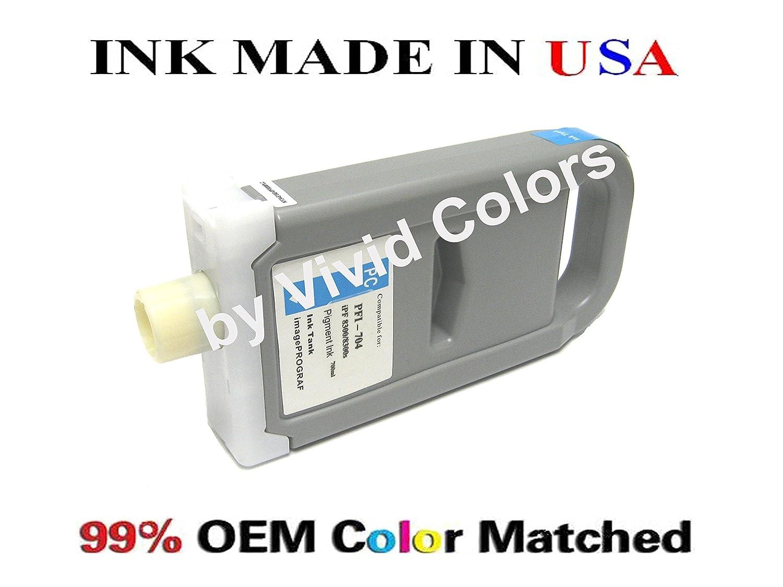 WF PFI-704 Matte Black Ink Cartridge Compatible for Canon Printer iPF 8300S 8300