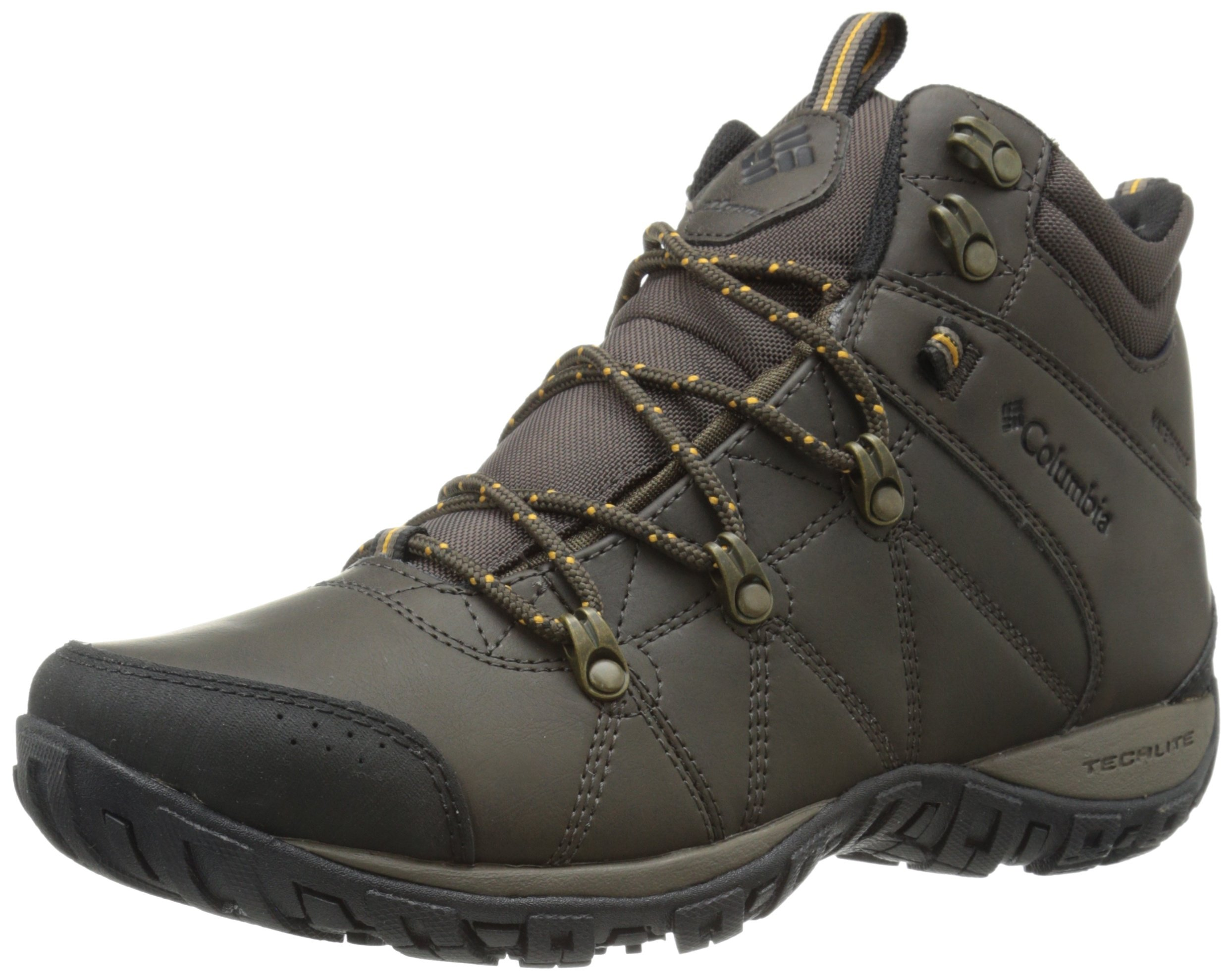 Columbia Men's Peakfreak Venture Mid Waterproof Omni-heat Hiking Boot, Cordovan, Caramel, 9.5 D US