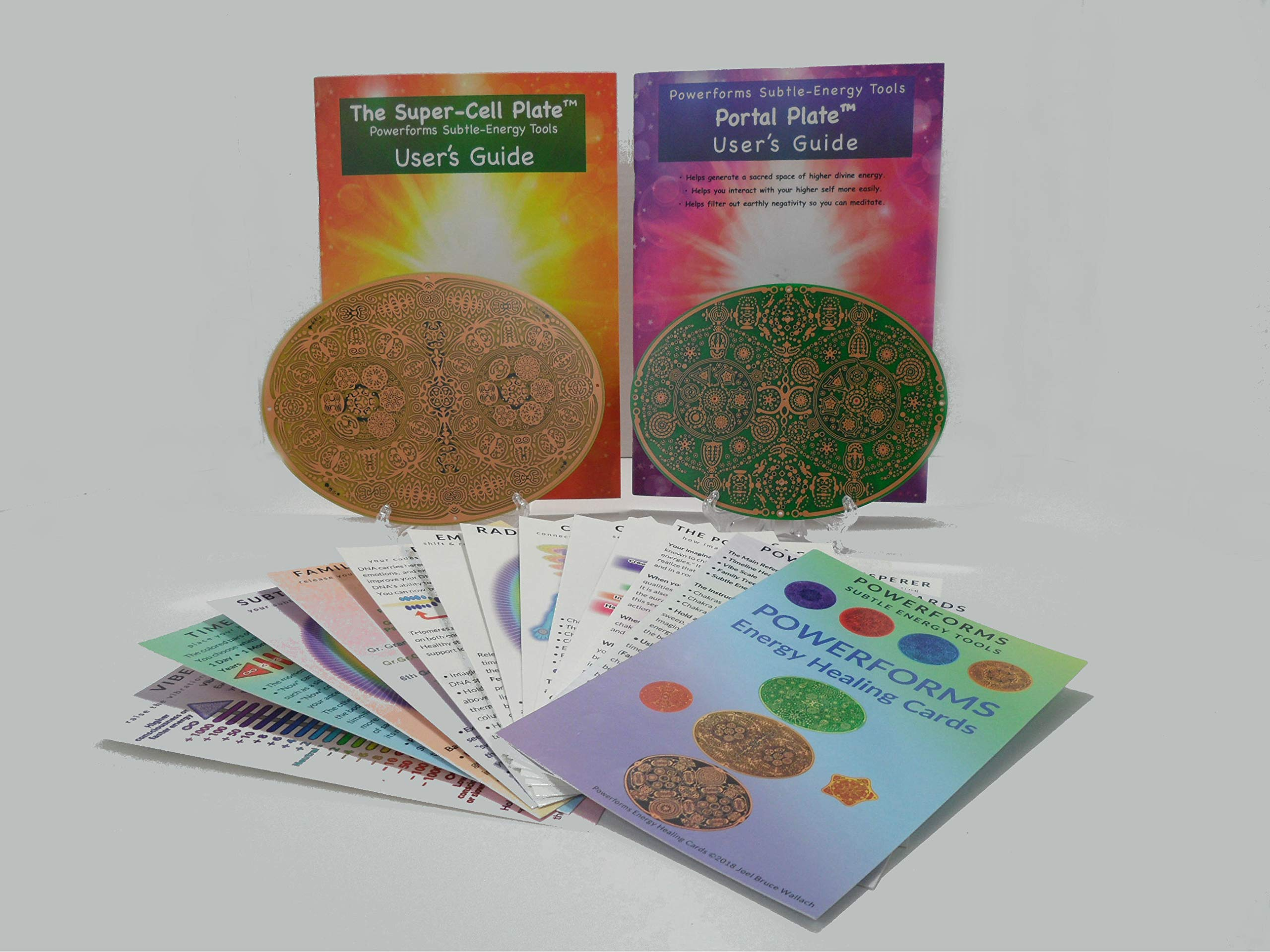 Empowerment Gifts ~ Powerforms 2.C ~ Portal + Super Cell + Energy Healing Cards (Save $19.97)