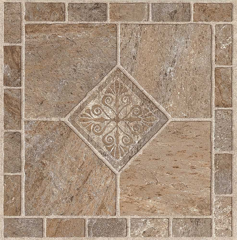 ARMSTRONG PEEL N' STICK TILE 12 IN. X 12 IN. MULTICOLOR BRONZE 1.14MM (0.045 IN.) / 45 SQ. FT. PER CASE