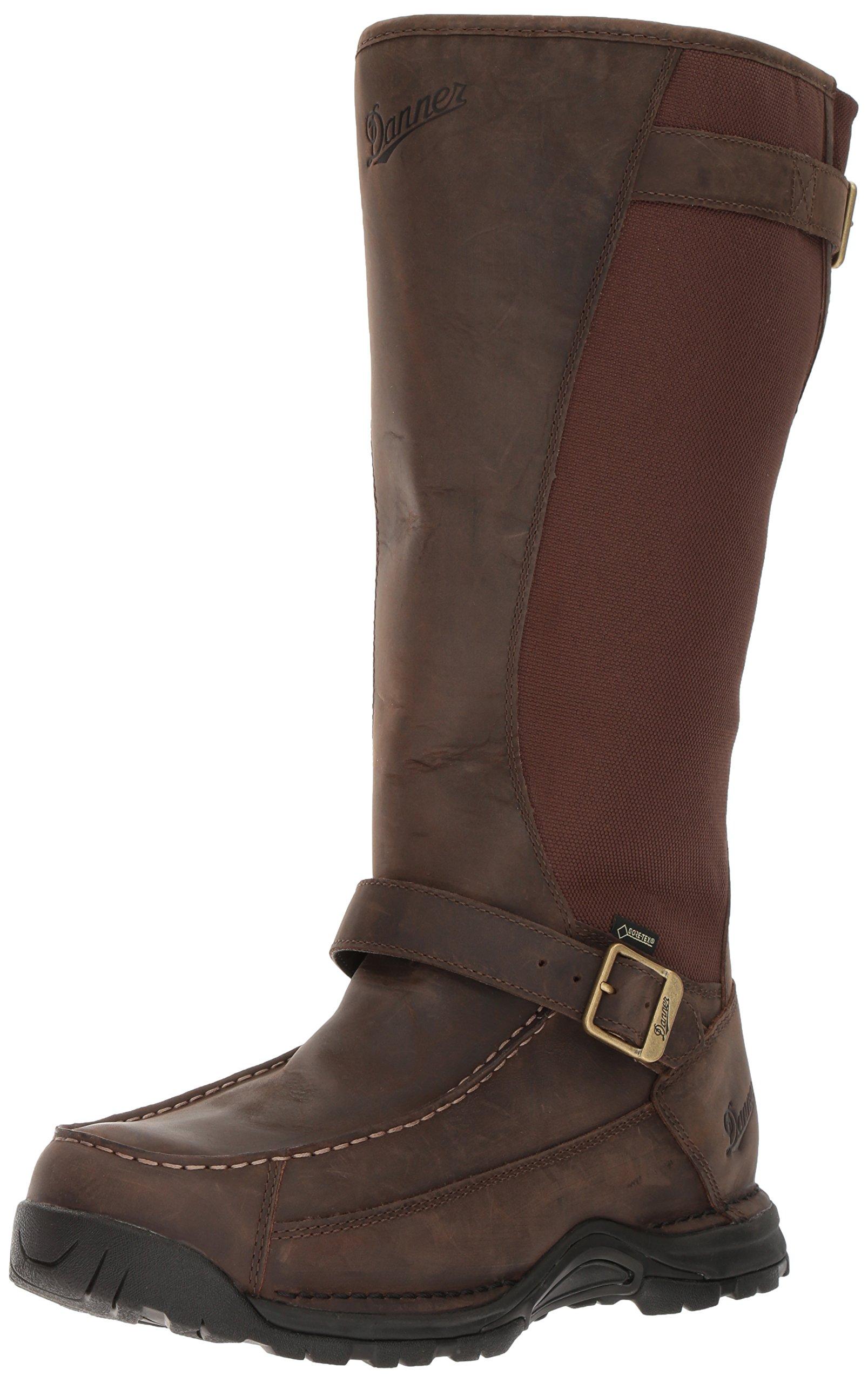 Danner Men's Sharptail Snake Boot 17 Inch Dark Brown Hunting Boot , 8.5 2E US
