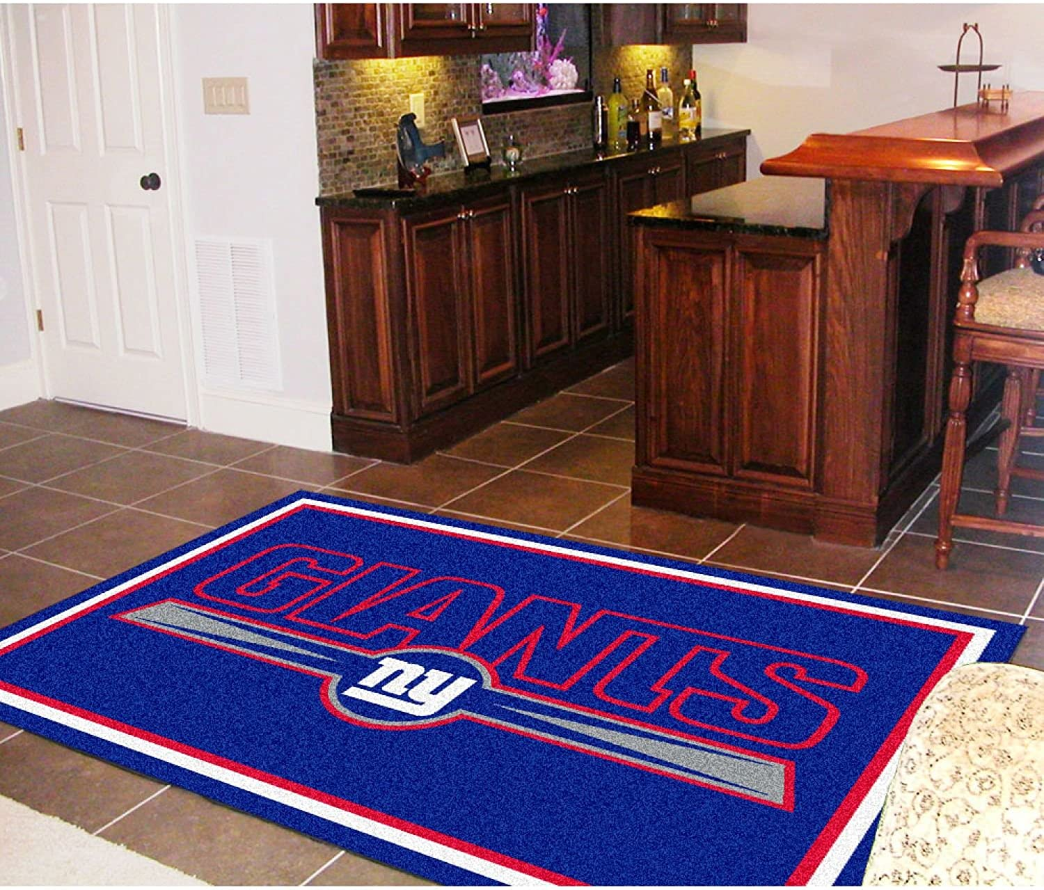 Reviewed: Fanmats New York Giants 5×8 Rug