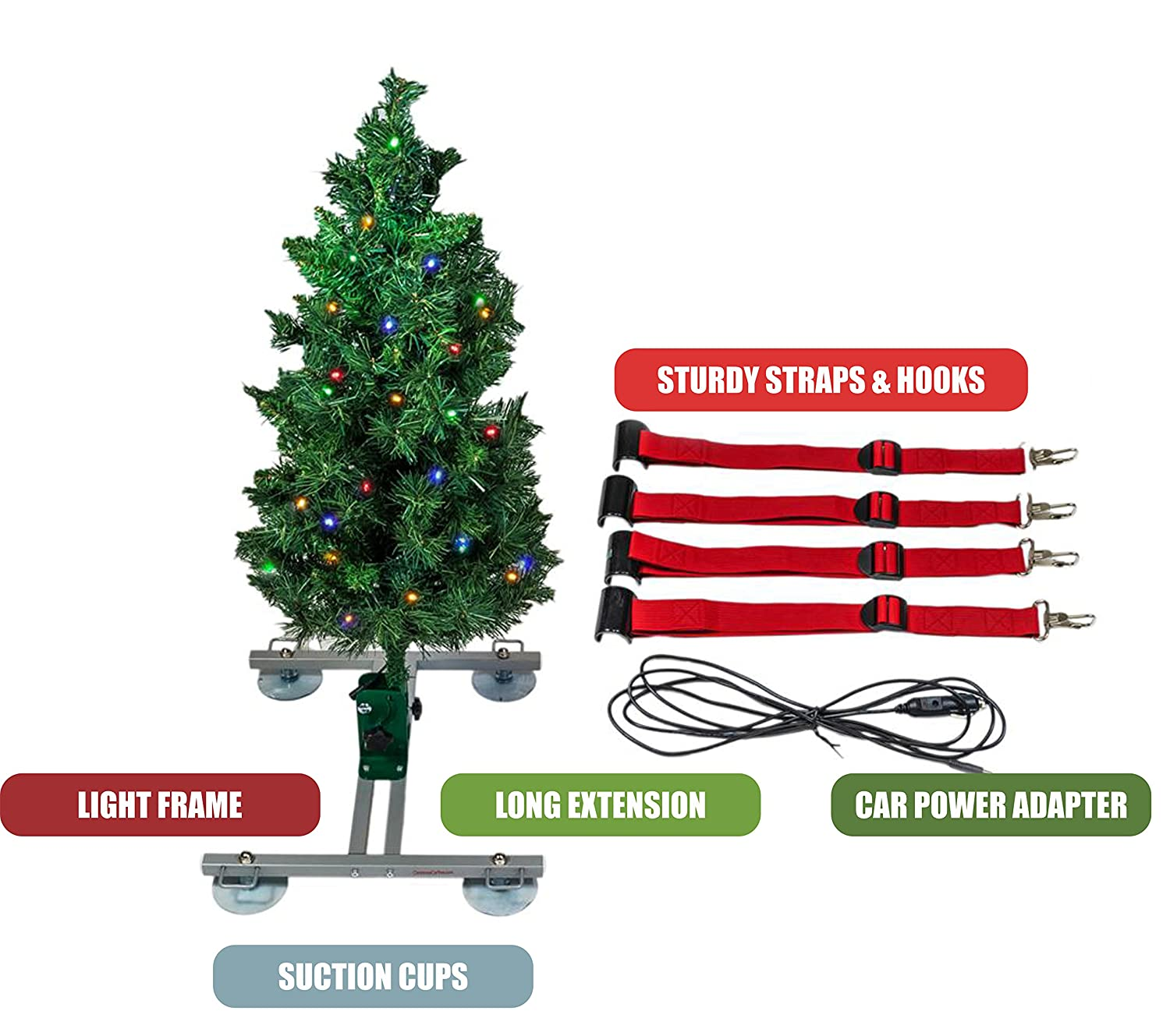 Amazon.com : The Christmas Car Tree - The only Christmas Tree For ...