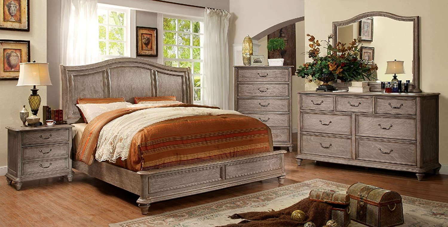 Amazon.com: Belgrade Collection Master Bedroom Furniture ...
