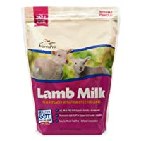 Manna Pro Milk Replacer with Probiotics for Lambs | Provides Complete Nutrition for Healthy Development | 3.5lbs