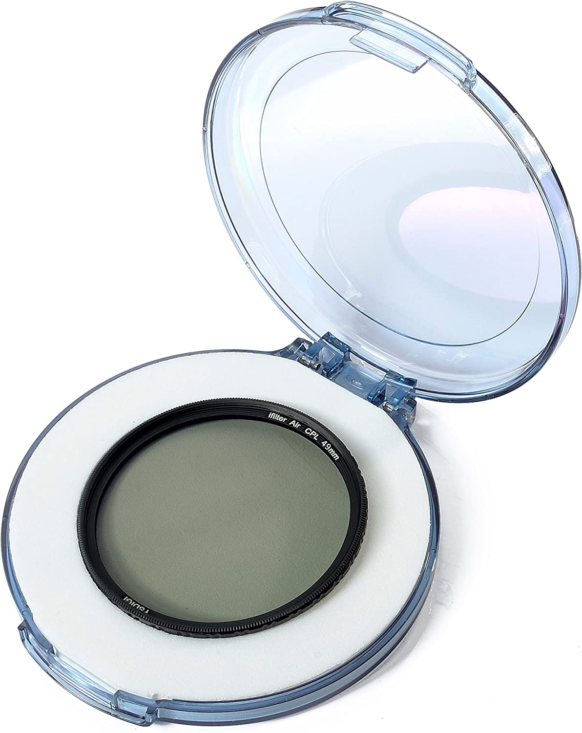 Multi-Coated YSDIGI CPL Protection Lens Filter with Lens Cloth HD CPL Filter for Outdoor Photography. Ultra-Slim 46mm Circular Polarizer Filter Nano Coatings High Definition Schott B270 Glass