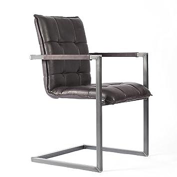 Esstisch Stühle Mit Armlehne natumo freischwinger mit armlehne schwingstuhl esszimmerstuhl