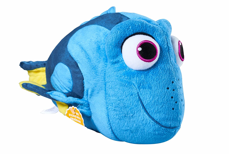 amazon com finding dory whispering waves dory plush toys games