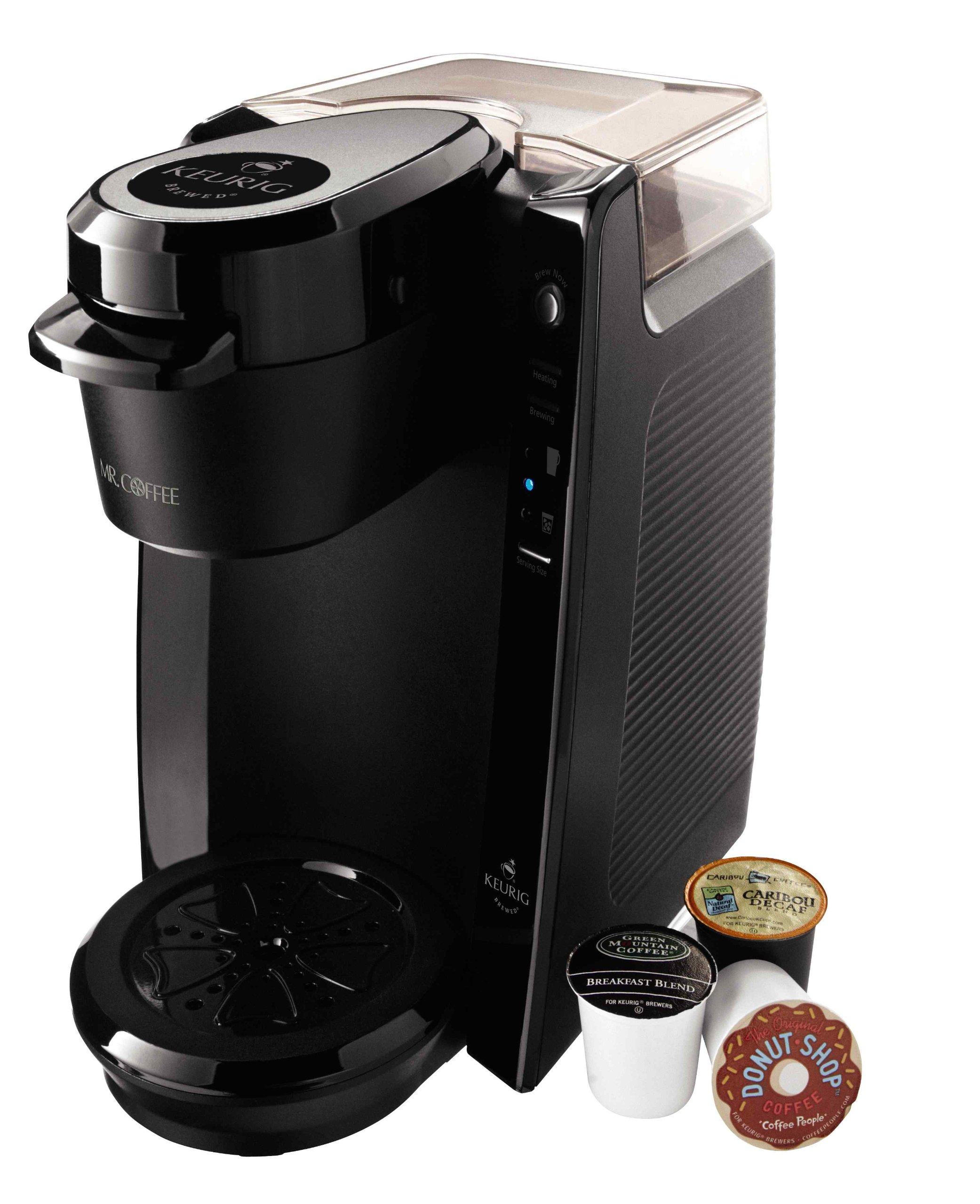 Mr. Coffee Single Serve 24 oz. Coffee Brewer, Black by Mr. Coffee