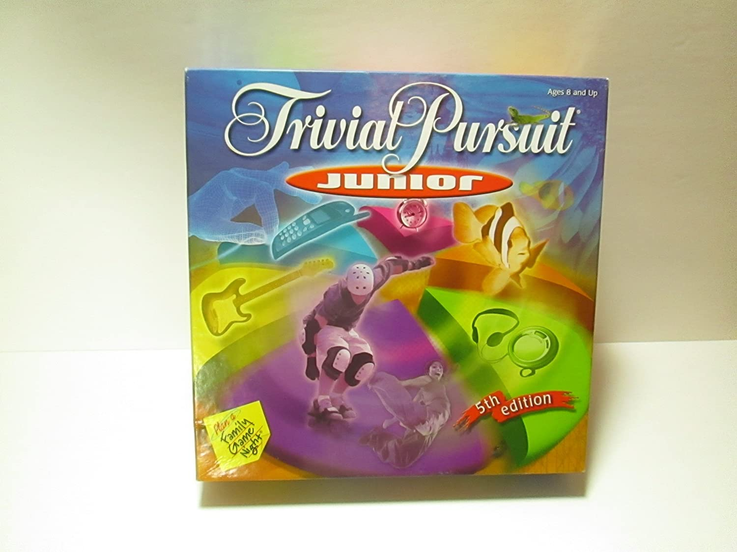 Trivial Trivial Trivial Pursuit Junior Game (5th Edition) by Hasbro fea6a9