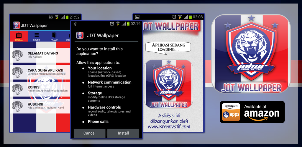 Amazon.com: JDT Wallpaper HD Theme: Appstore For Android