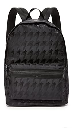 683a24f3929d Michael Kors Men's Kent Startooth Nylon Backpack, Black, One Size:  Amazon.ca: Clothing & Accessories
