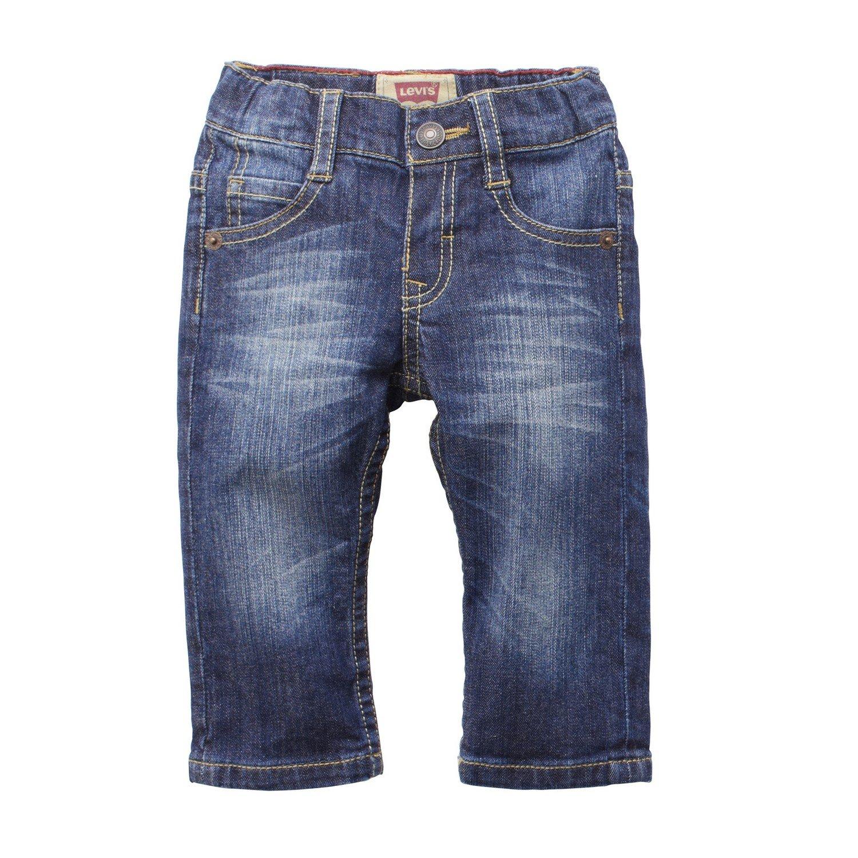 Levi's Baby Boys' Elastic Waist Straight Leg Jeans Levis Levi' s N92227B