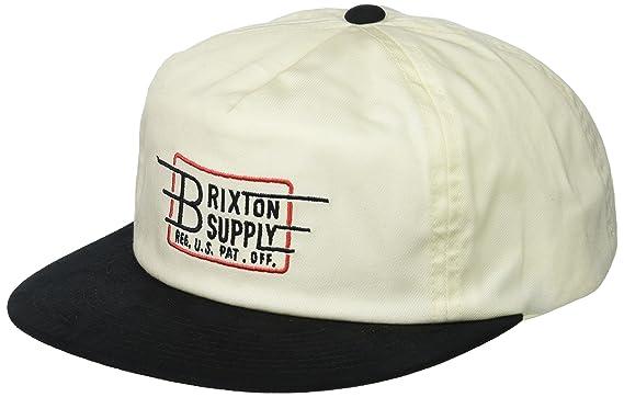 b424ca36e836a Amazon.com  Brixton Men s Bishop Low Profile Adjustable Hat