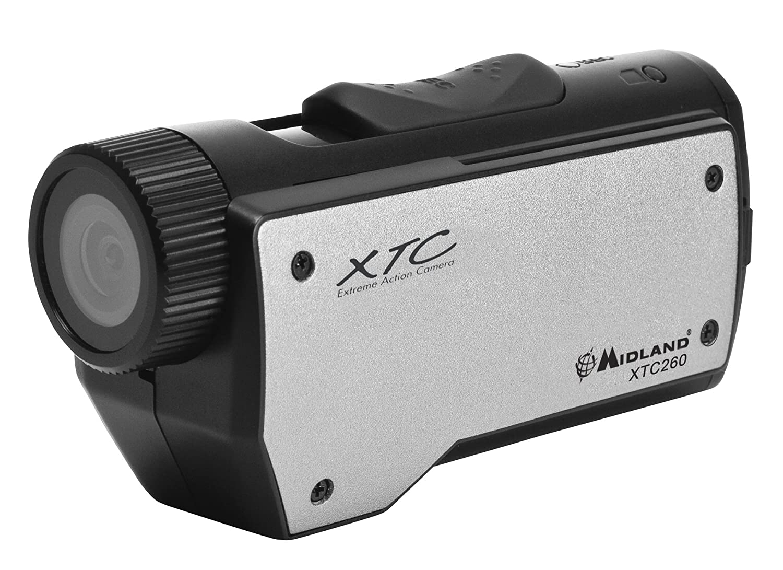 Midland Consumer Radio XTC260VP3 High Definition 720p Wearable Action Camera with 2 Mounts, Black Midland Radio Corporation