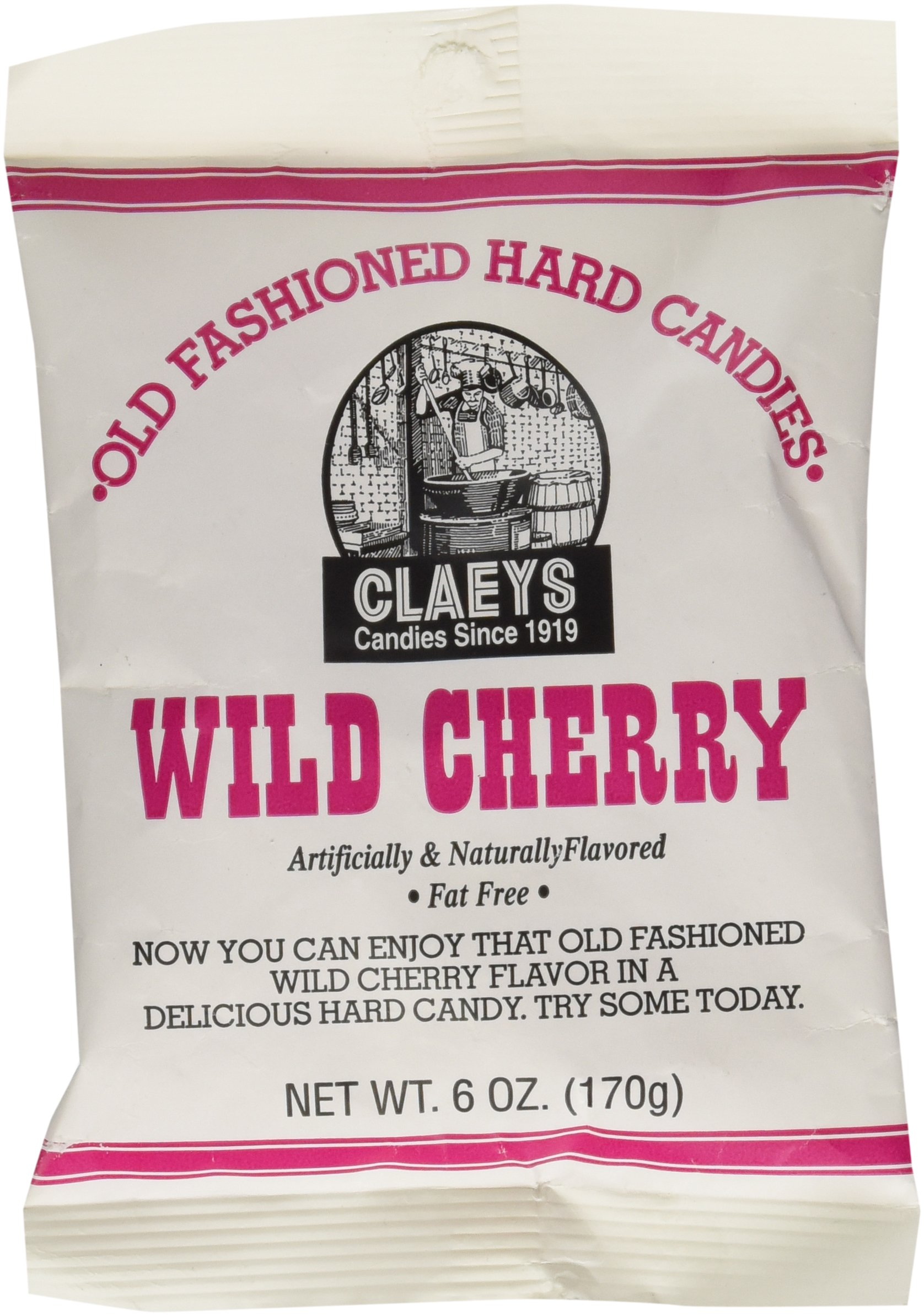 Claey's Wild Cherry Drops - 6 oz pack