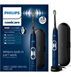 Philips Sonicare HX6871/49 ProtectiveClean 6100 Rechargeable Electric Toothbrush, Navy