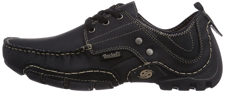 Dockers by Gerli 20ay003-400, Sneakers Basses homme, Noir (Schwarz), 43 EU