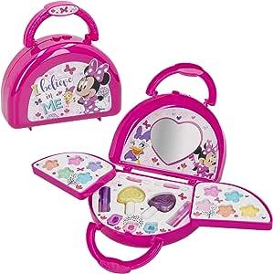 Maletin maquillaje infantil Bolso Maletin maquillaje Minnie Mouse para niños niñas Juego de maquillaje Minnie para niñas 5 6 7 años Pintauñas Niñas Manicura juguete: Amazon.es: Juguetes y juegos