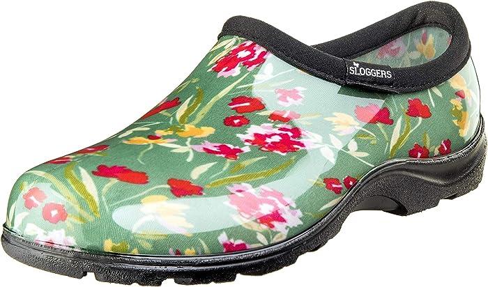 Sloggers 5119FCGN07 Wo's, Fresh Cut Green Sz 7 Waterproof Comfort Shoe