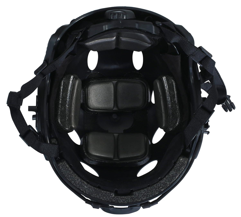 OneTigris PJ moderno casco t/áctico ligero para airsoft paintball 22-24 tama/ño Kopfumfang: 56cm -61cm color negro