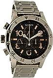 Nixon Men's 38-20 Chrono A4042195 Silver Stainless-Steel Quartz Watch