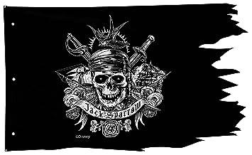 Disney Fluch der Karibik Piraten Flagge Wand Dekoration: Amazon.de ...